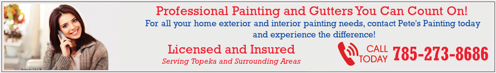 Professional Staining and Sealing You Can Count On in Topeka Kansas!